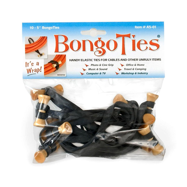 BongoTies: Ten (10) included per pack