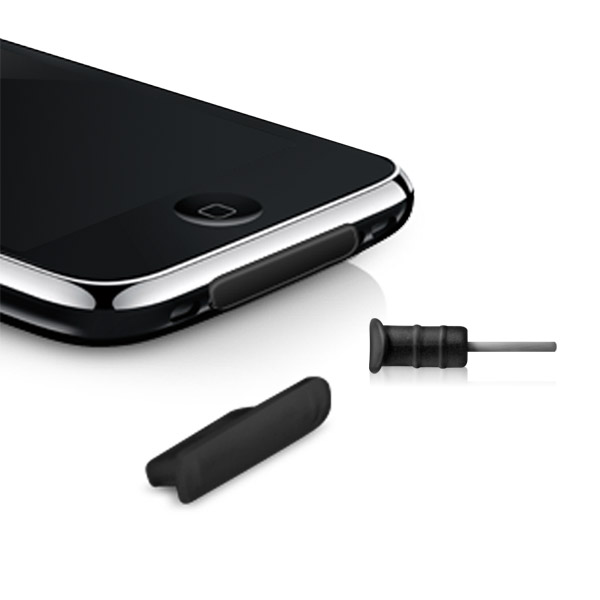 Portectorz: 30-pin + Headphone Combo - iPhone 3G/3GS (Black)