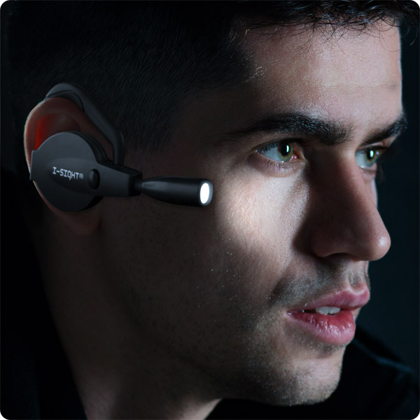 I-Sight: Ear-Mounted Illuminator
