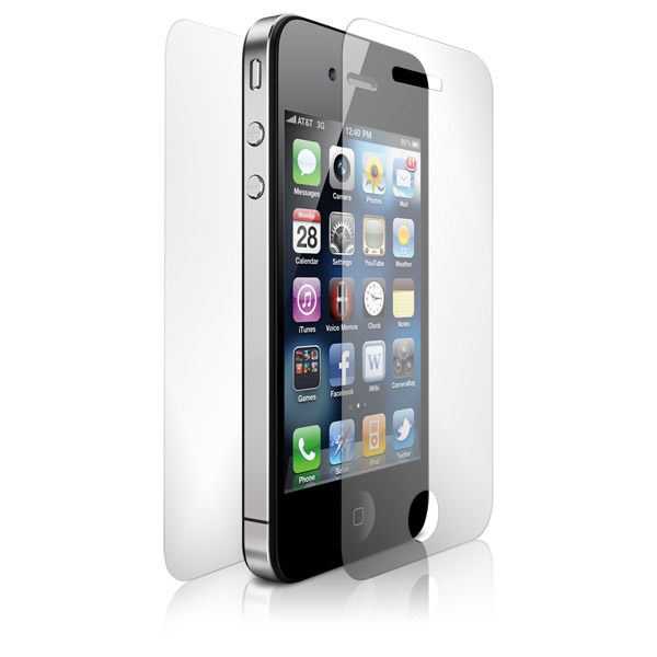 ClearCal: iPhone 4/4S Front and Back