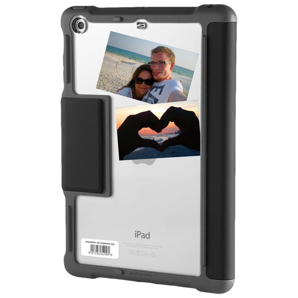 stm dux case with stand and clear back for ipad air 2