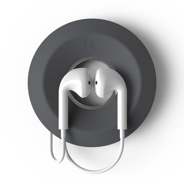 Cableyoyo: Securing Apple Earpods (Dark Gray)