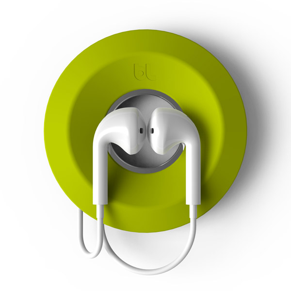 Cableyoyo: Securing Apple Earpods (Lime Green)