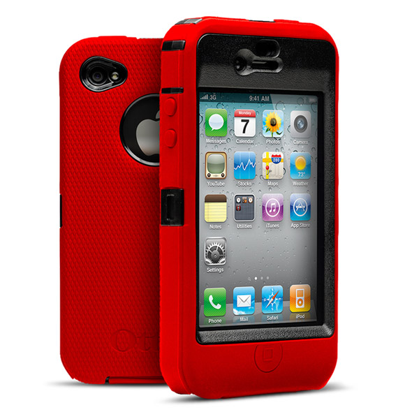 iPhone 4: Black + Red