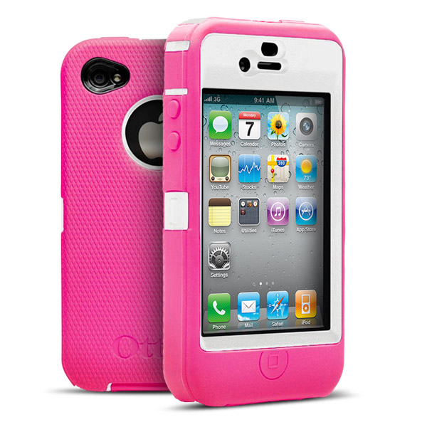 iPhone 4: White + Pink