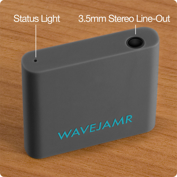WaveJamr v5: Status Light & 3.5mm Stereo Line-Out