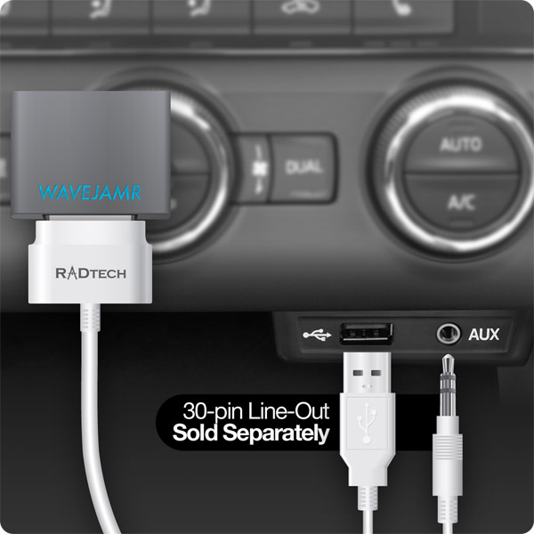 WaveJamr v5: Using with ProCable 30-pin Line-Out in a Car