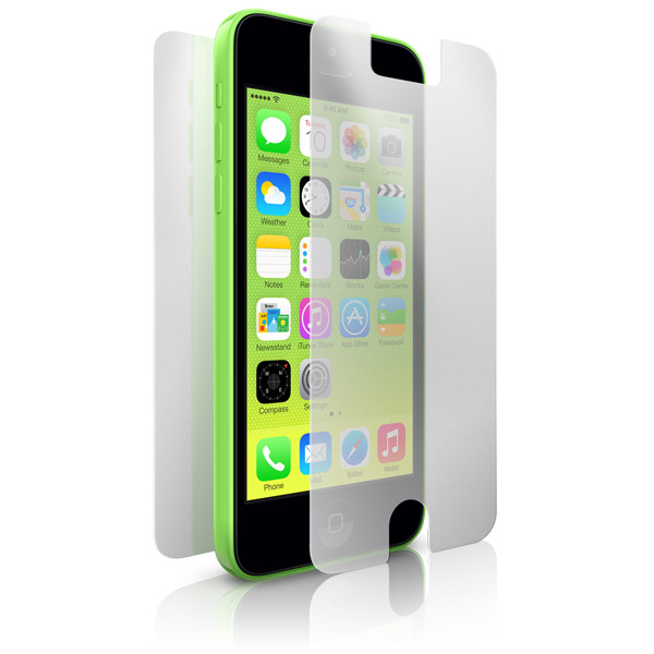 ClearCal: iPhone 5C Front and Back