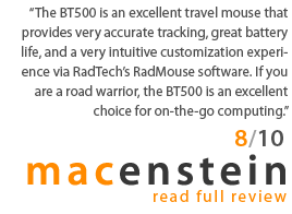 The BT500 is an excellent travel mouse...